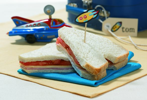 Space Shuttle Sandwich