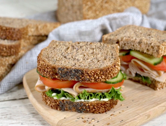Cape Seed Turkey Sandwich