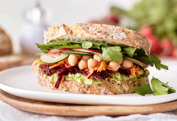 Ultimate Salad Sandwich