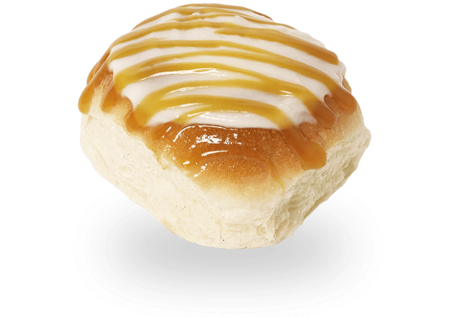 Fun Bun with Caramel Icing