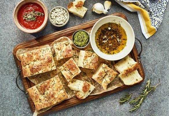 Focaccia Dippers