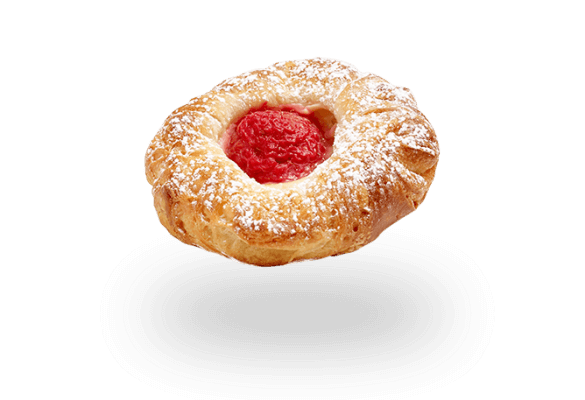 Mini Raspberry Danish