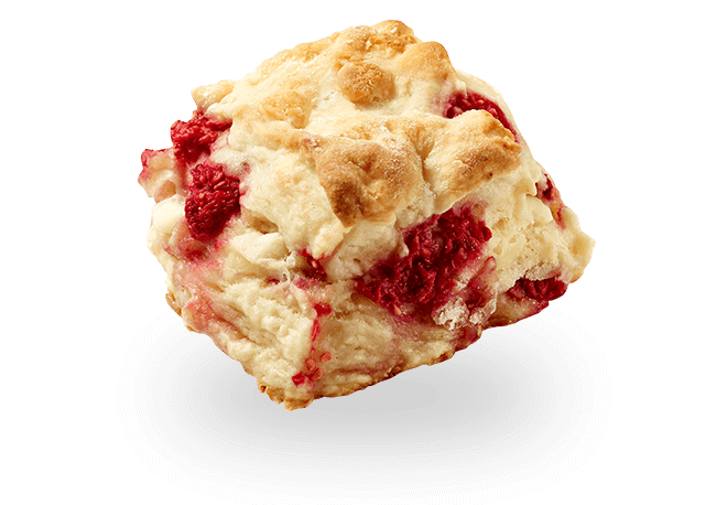 Berry & White Chocolate Scone