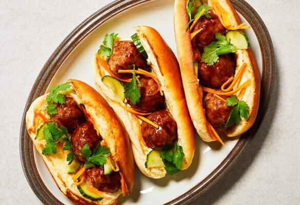 Hoisin-Glazed Pork Banh Mi