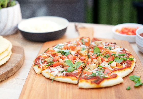 Pantry Staple Vegetarian Pizza