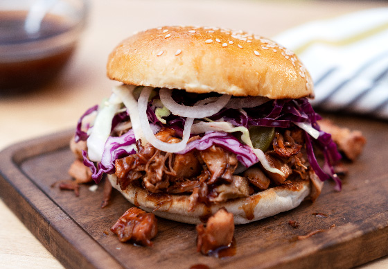 The Ultimate Plant-Based Jackfruit Sandwich