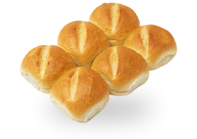 Higher Fibre Lunchbox Buns 6-pack