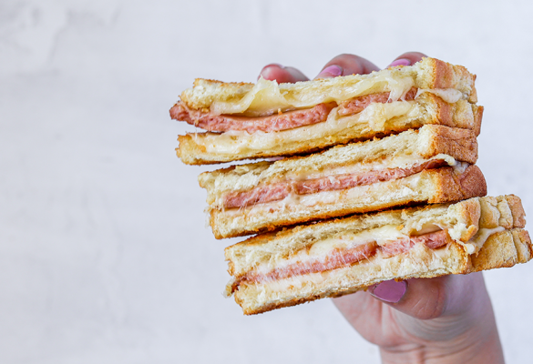 Spam grilled cheese