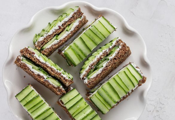 Cucumber Finger Sandwiches