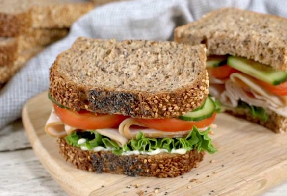 Turkey Sandwich on Cape Seed Bread