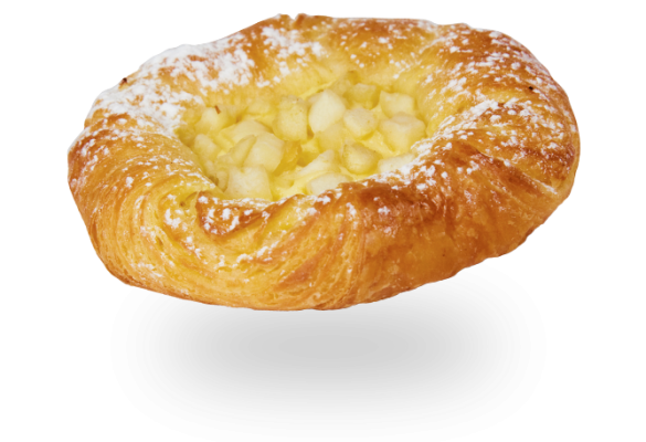 Apple & Custard Danish