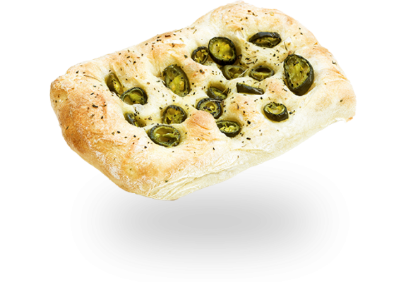 Jalapeno Turkish Bread Demi