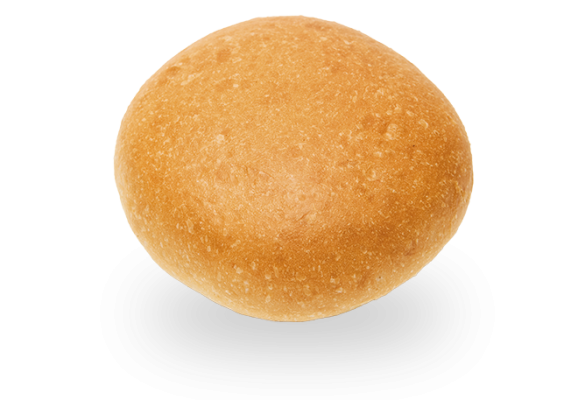 White Hamburger Bun