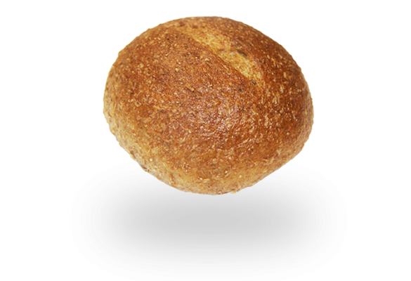 Whole Wheat Sourdough Dinner Roll