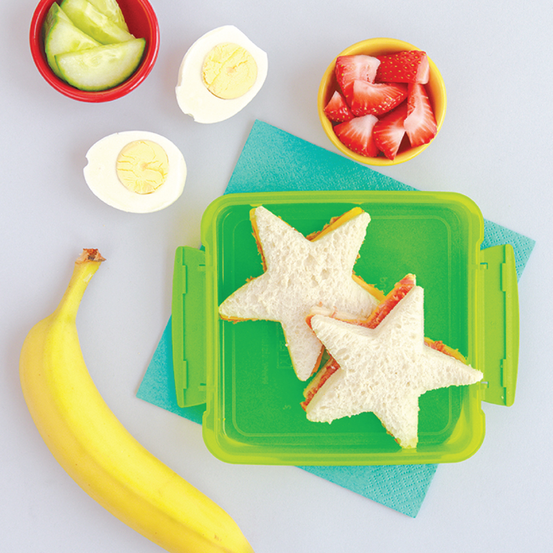 Star Shaped Higher Fibre Sandwiches
