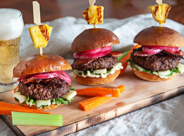 Pineapple Teriyaki Burgers - 850