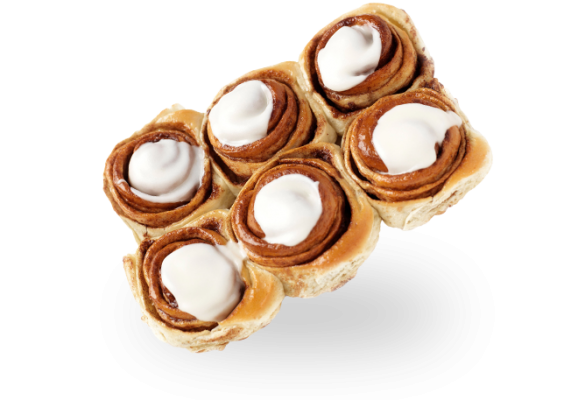 Mini Cinnamon Rolls 6-pack