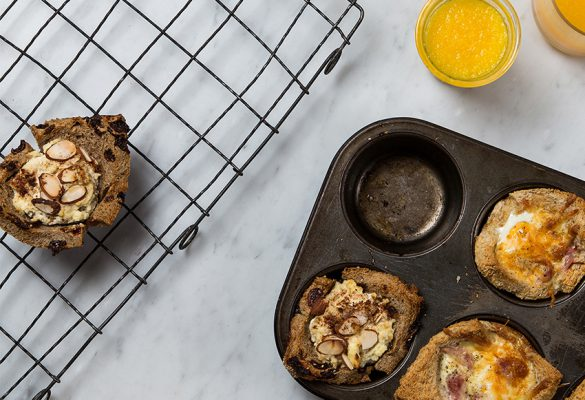 Sweet and Savoury Toasted Breakfast Cups - 850