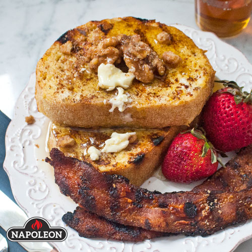 Grilled French Toast by Napoleon Grills